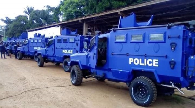 African Nations Championship in Cameroon: Rich in Armored tanks, pick-up trucks and heavy weapons
