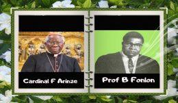 Cardinal Arinze says cause of beatification of Dr. Bernard Nsokika Fonlon could be introduced