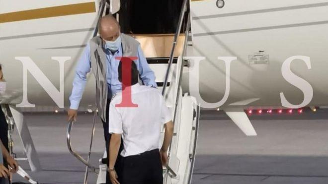Spain: Ex-King Juan Carlos lands in Abu Dhabi