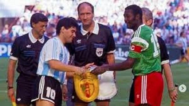 Maradona pays tribute to Tataw Stephen