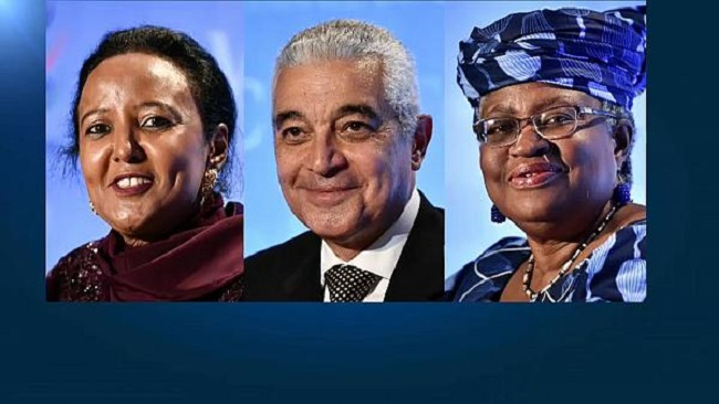 Three Africans vying for the post of WTO Director General