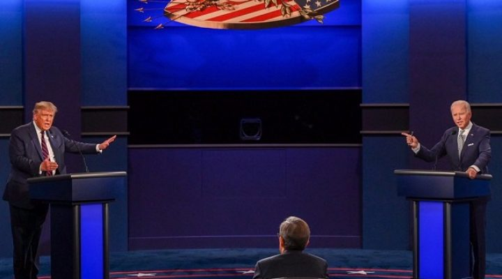 Race for the White House: First debate between Trump and Biden- an embarrassment