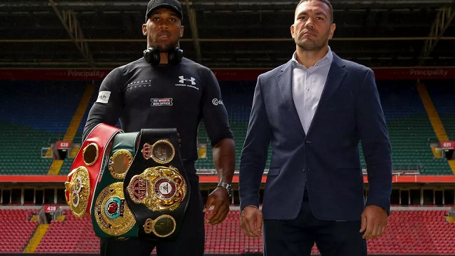 Boxing: Heavyweight champion Joshua to face Pulev in first fight in year