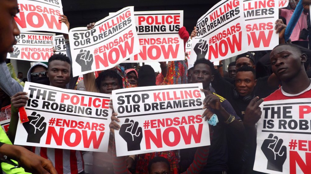 Nigerian army threatens action as protests continue against police brutality