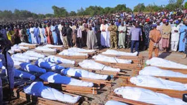 Nigeria massacre: Number shoots up to at least 110, Buhari won't talk