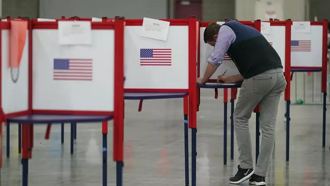 Final voting underway in the US presidential election 2020
