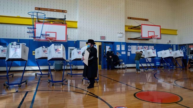 More than 100 million votes were cast before Election Day in US