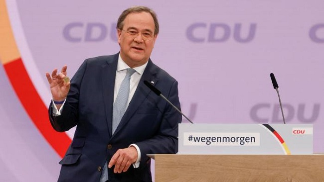 Bundes: Chancellor Merkel ally Armin Laschet elected new leader of CDU party