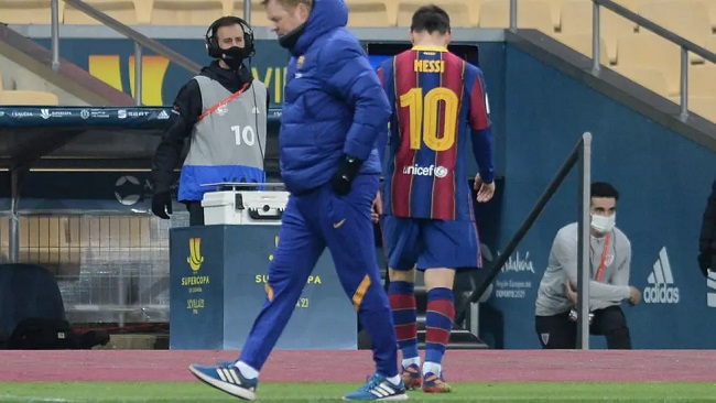 Football: Messi banned for two matches after historic Barca red