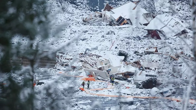 Death toll continues to rise days after major landslide in Norway