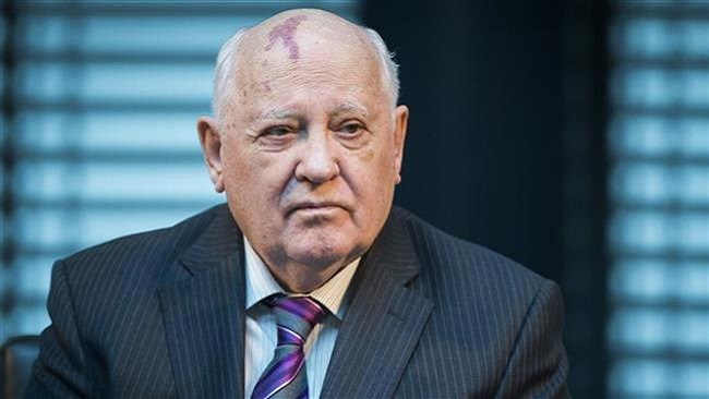 Moscow: Gorbachev urges talks to 'avoid nuclear war' as US bombers fly over Russian navy