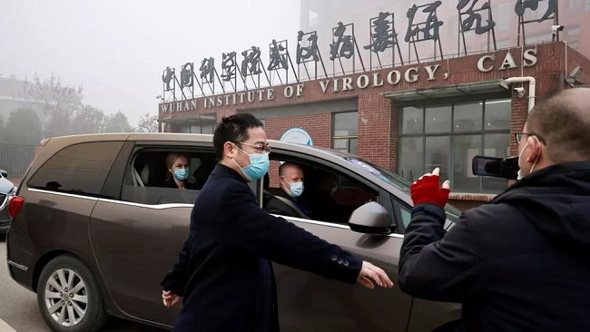 WHO Covid-19 investigation team visits Chinese virus lab in Wuhan