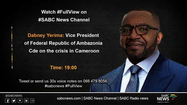 Better is good: Yerima's SABC interview with Francis Herd