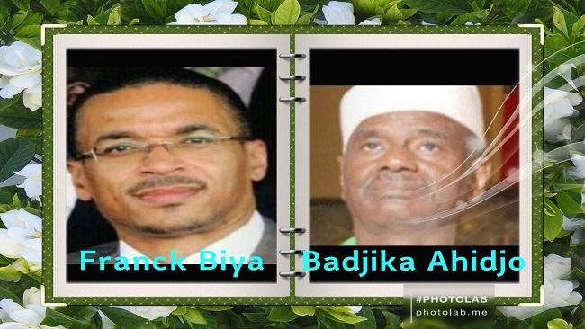 Biya succession: Will it be a tug of war between Franck Biya and Mohamadou Ahidjo?