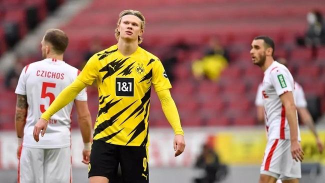 Football: Solskjaer and Tuchel play down Haaland talk