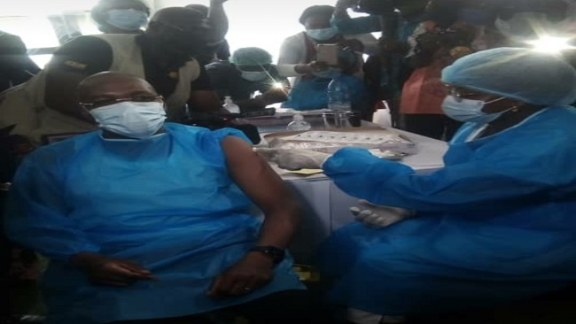 Yaoundé: CPDM Crime Syndicate launches COVID-19 vaccination campaign