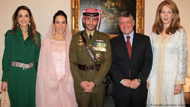 Jordan's Prince Hamzah pledges loyalty to half-brother King Abdullah