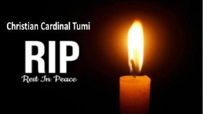 Cardinal Tumi: Heartbroken President Sisiku Ayuk Tabe sends condolences to the Roman Catholic Community