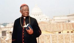 Pope Francis sends condolences for death of Cardinal Christian Tumi