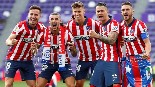 Spanish Football: Atletico Madrid beats rivals Real Madrid to win first La Liga title since 2014