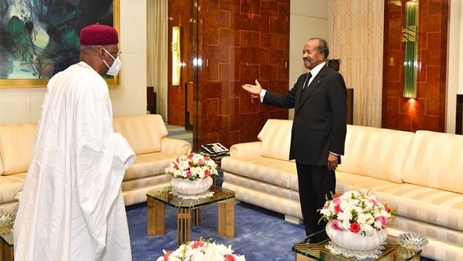Death of Idriss Deby: Buhari invites Biya to Abuja