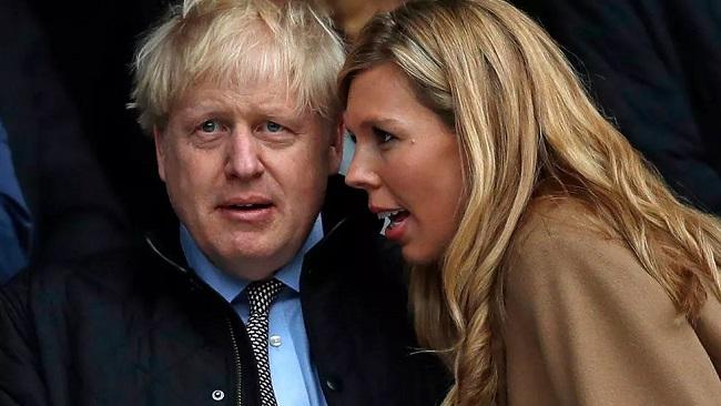 British Prime Minister Boris Johnson weds in 'secret ceremony'