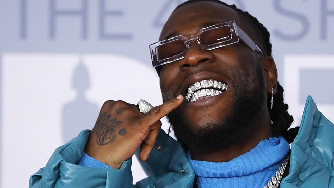 Burna Boy is first African artist with 100 million streams from three albums