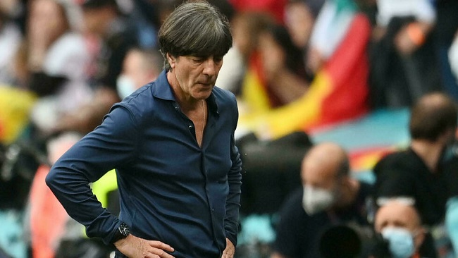 Football:England defeat 'hugely disappointing' for Loew as Germany bow out