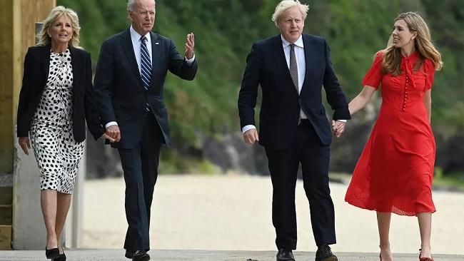 British Prime Minister hails Biden as 'breath of fresh air'