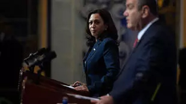 Kamala Harris calls on Guatemala to tackle corruption to stem US-bound migration