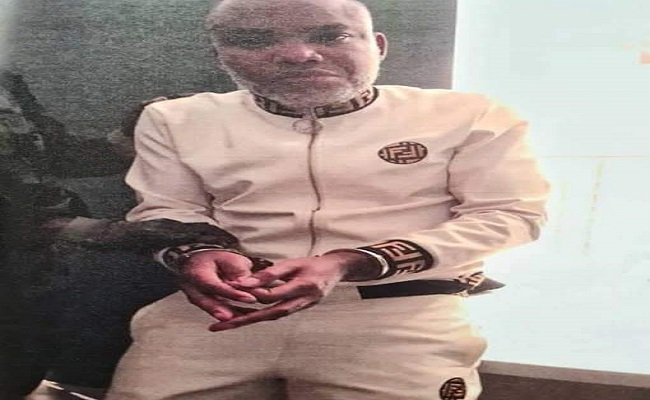 Nnamdi Kanu, leader of the secessionist group IPOB, arrested, 'returned' to Nigeria
