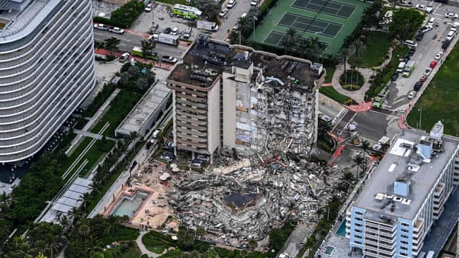 Biden to visit Surfside near Miami after deadly condo building collapse