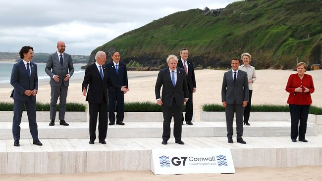 G7 summit: Leaders set to announce global pandemic prevention plan