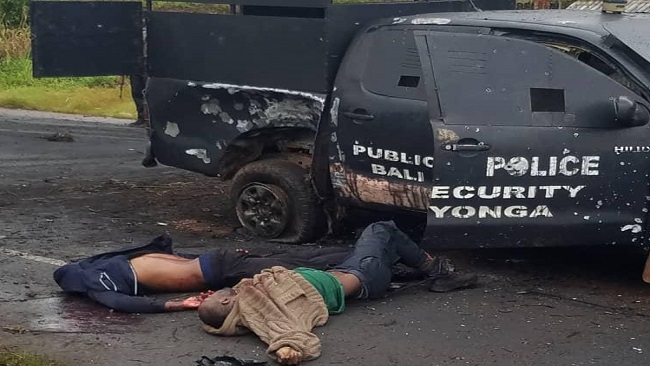 Southern Cameroons Crisis: Amba fighters kill 4 in ambush on police convoy