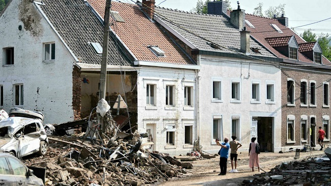 Belgium holds day of mourning after deadly European floods