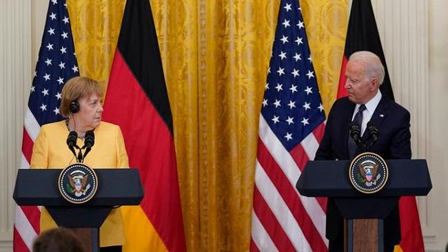 US: Merkel, Biden stress friendship but remain at odds over pipeline after meeting