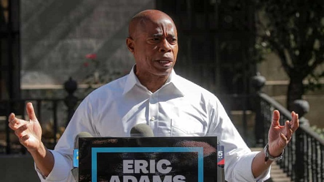 US: Former police officer Eric Adams wins New York City Democratic mayoral primary