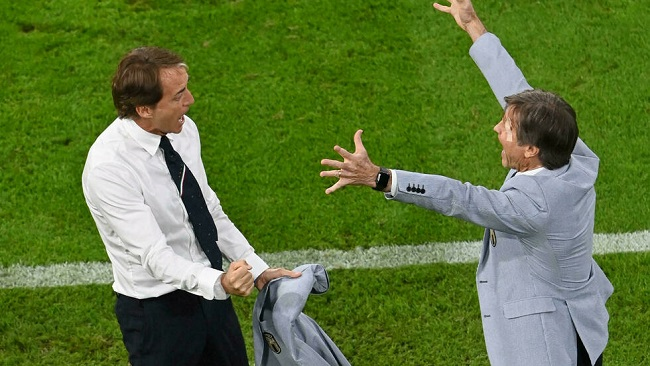 Euro 2021: Mancini celebrates Italy's 'extraordinary' win over Belgium
