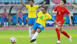 Football: Pele of Brazil hails 'much more than footballer' Marta after Olympics landmark