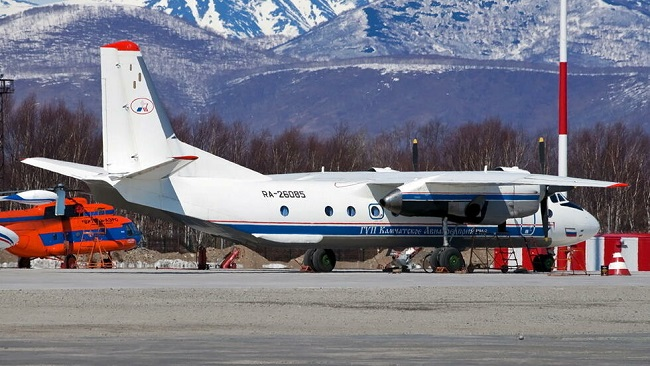 Plane with 28 on board crashes in Russia's far east
