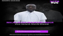 Southern Cameroons Crisis: Suspected Amba Boys kidnap Catholic priest in Mamfe