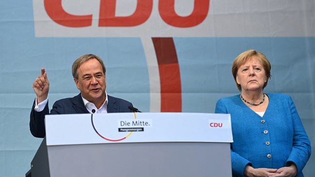 Voting underway in tight race as Germany prepares for post-Merkel era
