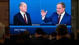 Bundes: Crucial debate for Merkel party to turn race around