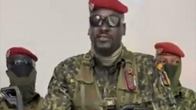 Guinea's new strongman: combat-hardened ex-Legionnaire