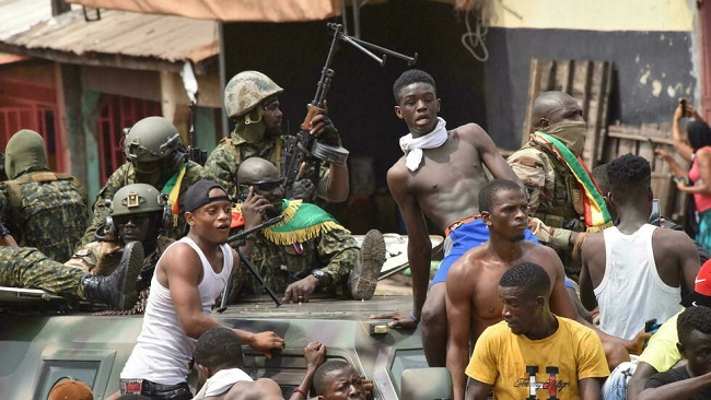 Guinea's opposition leader says he's open to transition following military coup