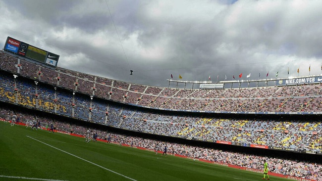 Football: Barcelona allowed to fill Camp Nou as key games loom