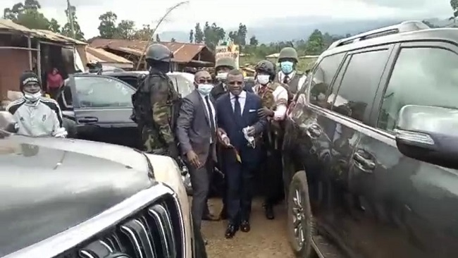 Southern Cameroons Crisis: Prime Minister Dion Ngute receives strange warm welcome in Bamenda